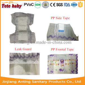 Nonwoven Surface Competitive Price Disposable Baby Diaper Sanitary Napkin Manufacturer pictures & photos