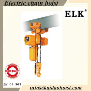 3ton Double Speed Electric Chain Hoist with Electric Trolley for Mobile Crane pictures & photos