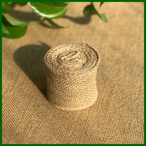 Natural Burlap Jute Cloth Roll