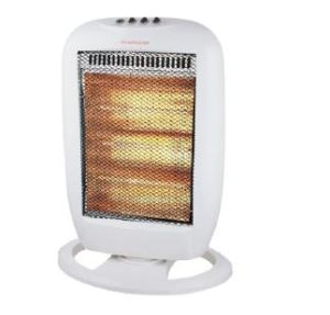1200W Heater with Halogen Heating