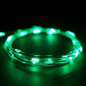 AA Battery Powered Rechargeable Copper Wire String Starry LED Lights for DIY