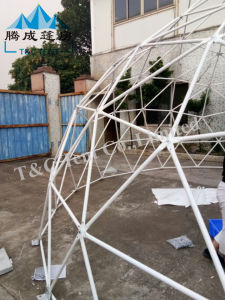 Geodesic Steel Large Dome Tent for Events Family Tent China
