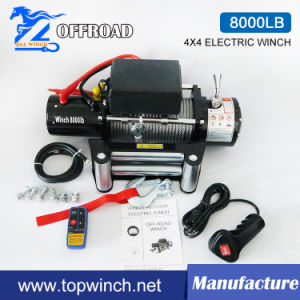 4X4 Recovery Electric Winch 12V/24V 8000lb-1
