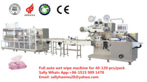 Hm-F680A Baby Wet Wipes Folding and Making Machine