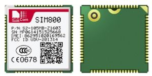 Low Power Consumption Quad-Band SIM800 Simcom GSM GPRS Module Compatible with SIM900