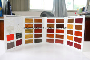 Wood Paint Furniture Lacquer  Color Card  for Advertisement pictures & photos