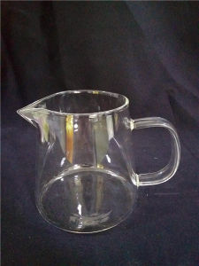 Glass Water Cup with Carton Packaging Box