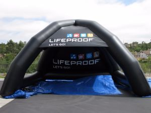 Outdoor Big Blk Inflatable Rest Tent with Logo Advertising pictures & photos