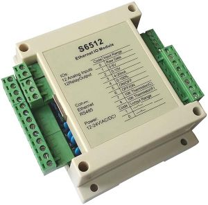 12 Channels Ethernet Analog Input, 12 Channels Relay Output Modules, Modbus TCP Modbus RTU