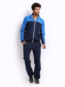 Wholesale Men′s Navy Blue Tracksuit (A802)