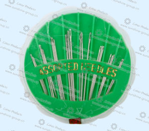 High Quality China Hand Sewing Needle with Plastic Box pictures & photos