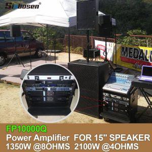 [Hot Item] 4 Channels Power Fp10000q Amplifier 1000 Watt RMS Amplifier for  12 Inch Speaker
