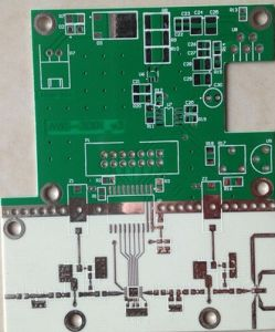Rogers PCB with Immersion Gold Surface Treatment