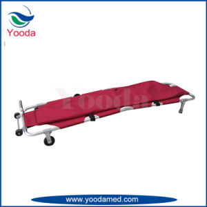 Foldable Funeral Stretcher with Body Bag pictures & photos