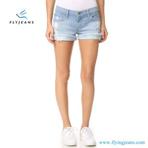 2017 Hot Women Mini Pants Denim Short by Fly Jeans New Design pictures & photos