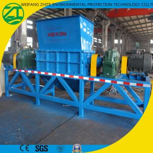 Tire Life Garbage Biaxial Shredding Machine pictures & photos
