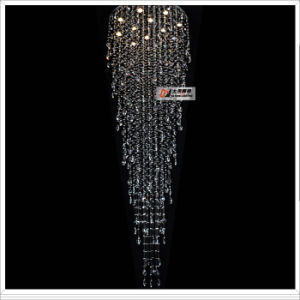 Large Chandelier Crystal LED Lighting Project Lamps L9256-12L