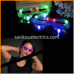 LED Glow Glasses/Flashing LED Glasses /Party Light up Glasses