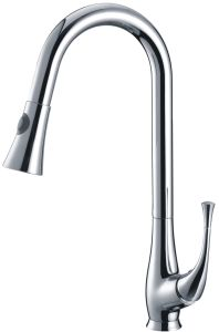 Stylish Brass Pull out Kitchen Faucet