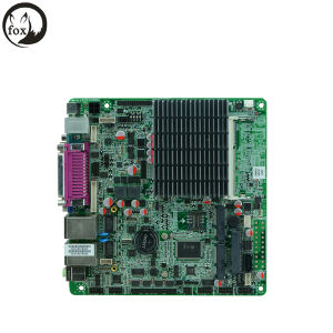 Mini-Itx Motherboard with J1900/2.00GHz Quad Core CPU, Lvds, 6 COM Support RS485 pictures & photos