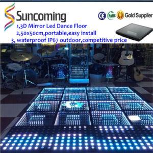 New Infinity Mirror 3D LED Dance Floor - China LED Dance Floor, LED ...