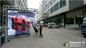Outdoor P16mm Flexible Soft LED Display for Stage Rental