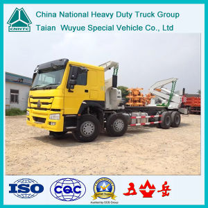 HOWO 8X4 Side Loader Truck