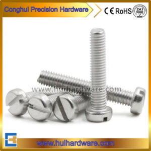 Stainless Steel Slotted Cheese Head Machine Screws DIN84 pictures & photos