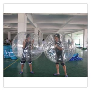 Team Exercise Traditional Type Clear Inflatable Bumper Ball