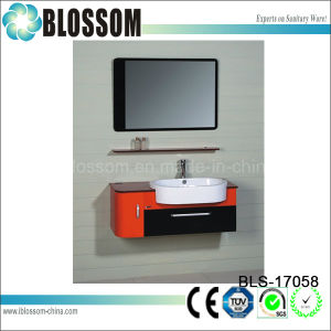 Wholesale Small Wall Mounted Sinks Bathroom Cabinet (BLS-17058) pictures & photos