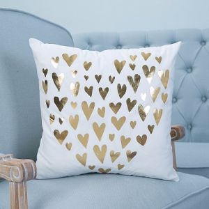 Foil/Gold&Silver Printed Decorative Cushion/Pillow (MX-02D/F/I/J/K) pictures & photos