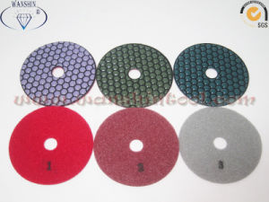 3-Step Dry Polishing Pads for Granite pictures & photos