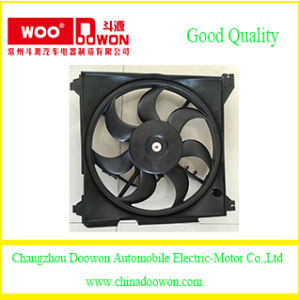 Radiator Cooling Fan/ Car Electric Condenser Fan for Hyundai Santafe