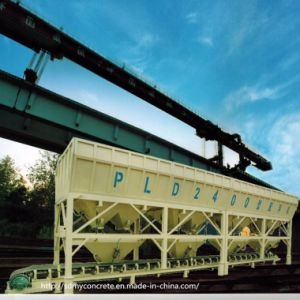 PL2400-4 Aggregate Bins Concrete Batching Machine