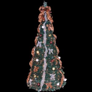 fully decorated popup christmas tree with lights my10009300