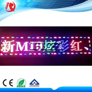 Advertising Moving Message LED Display Board RGB Scrolling Text Display LED Sign P10 LED Display Module pictures & photos