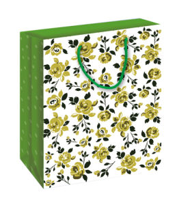 New Design Flower Gift Paper Bag (BS-006)