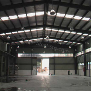 Saudi Arabia China Made Q345 Light Steel Structure Warehouse for Sale pictures & photos