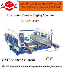 Horizontal 2 Sides at Once Finished Glass Edging Machine