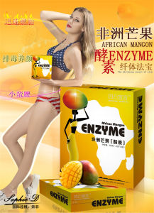 Healthy and Safe Colon Detox African Mango Enzyme for Slimming