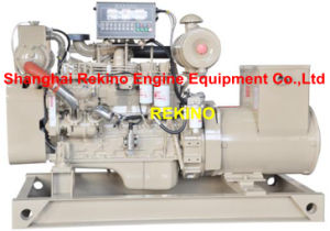 50kw/63kVA 50Hz Cummins Marine Diesel Genset Generator (6BT5.9-GM83/ MP-H-50-4)
