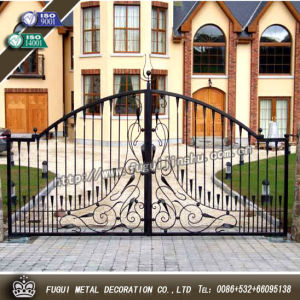 China Fugui Metal House Wrought Iron Gate Design China Gate Design