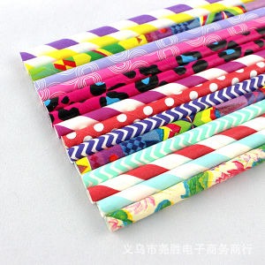 2015 Latest Paper Drinking Straws Flexible pictures & photos