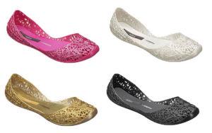 negozi popolari scarpe classiche nuova versione Melissa Campana Women′s Zigzag Ballerina Flat