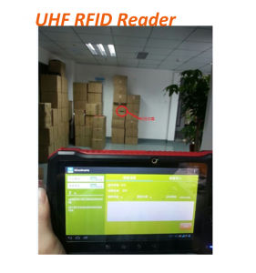 "7"" Industrial Long Range 5m Distance All in One Hf UHF RFID Reader with Fingerprint Barcode Sensor"