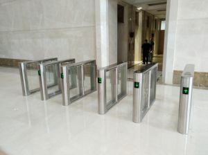 Remote Control Turnstile Barrier Mechanism with Entry System pictures & photos