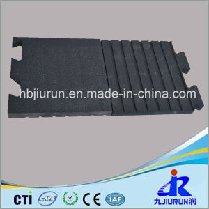 Interlocked Cow Rubber Stable Mat with Qrange Line Pattern pictures & photos