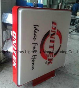 Chain Store Shop Advertising LED Sucking Light Box pictures & photos