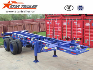 20 Feet Chassis Extendable Trailer pictures & photos