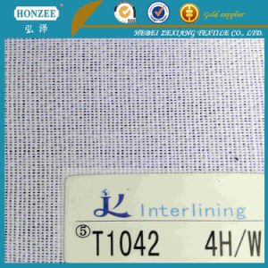 Woven Adhesive Fabric for Cap Interlining